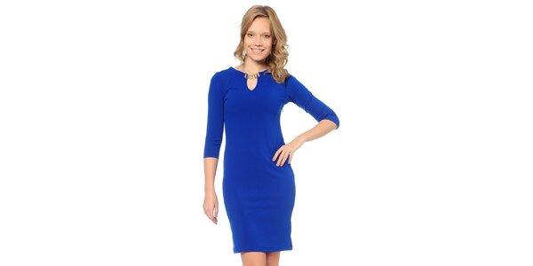 Dámske modré šaty TopShop