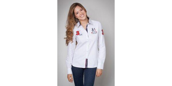 Dámska biela košeľa Valecuatro