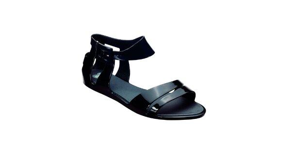 Dámske čierne sandálky Mel