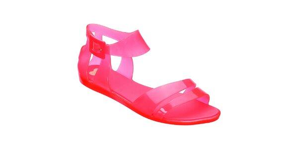 Dámske červené sandálky Mel