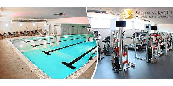 Wellness, bazénový svet a fitness pre dvoch