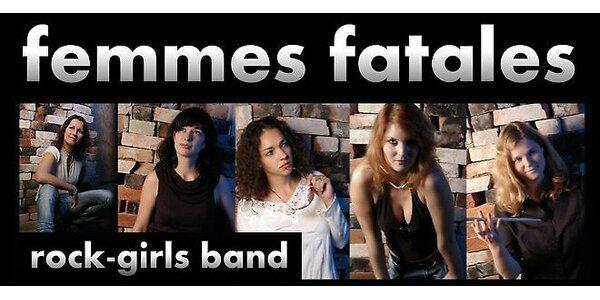FEMMES FATALES v BRITISH ROCK STARS
