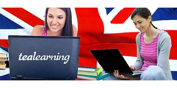 Ročný online kurz angličtiny pre všetky úrovne
