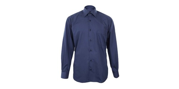 Pánska tmavo modrá košeľa Dicotto