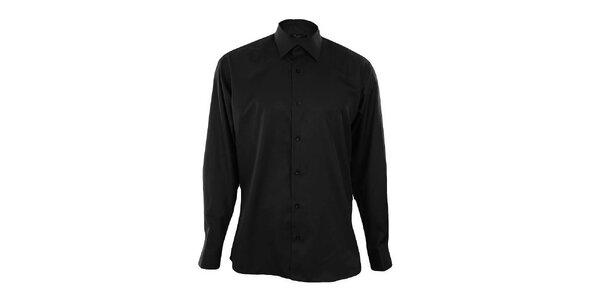 Pánska čierna košeľa Dicotto
