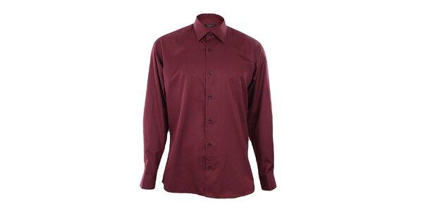 Pánska vínová košeľa Dicotto