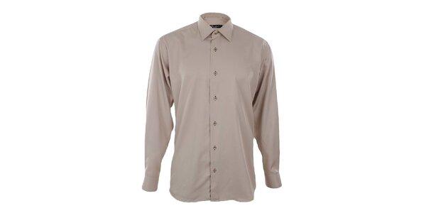 Pánska béžová košeľa Dicotto