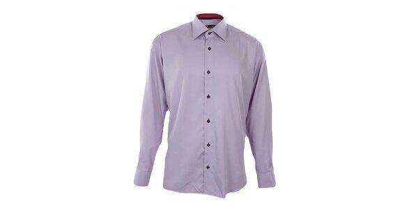Pánska svetlo fialová košeľa Dicotto