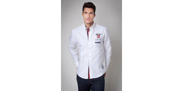 Pánska biela košeľa Valecuatro