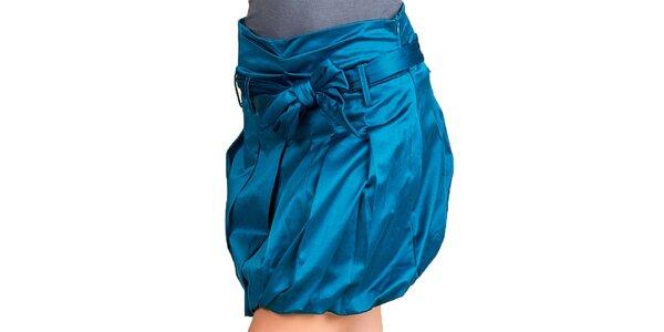 Dámska modrá balónová sukňa Keysha