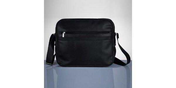 Pánska čierna taška Solier