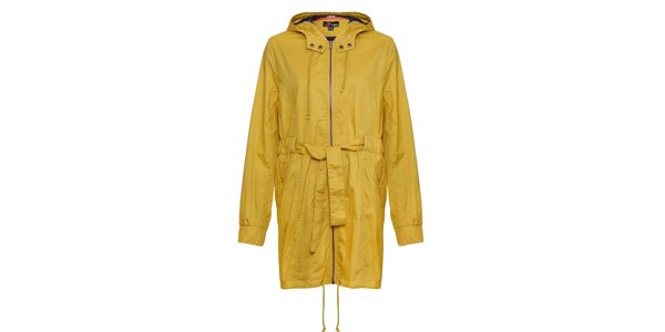 Dámska horčicovo žltá bunda Yumi