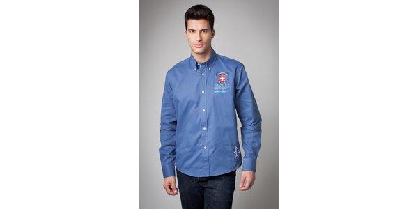 Pánska svetlo modrá košeľa Valecuatro