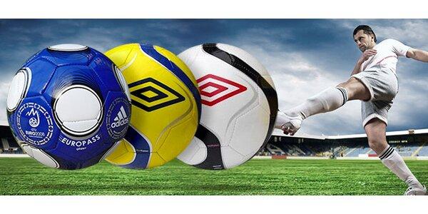 Futbalové lopty UMBRO a ADIDAS