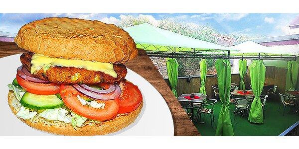 MAXIM burger pre farmárov aj vegetariánov