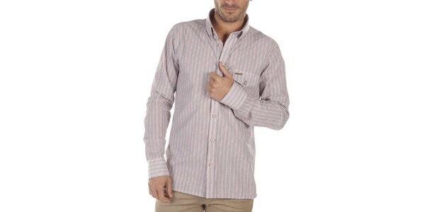 Pánska košeľa s drobnými prúžkami Bendorff Next