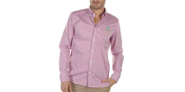 Pánska ružovo kockovaná košeľa Bendorff Next