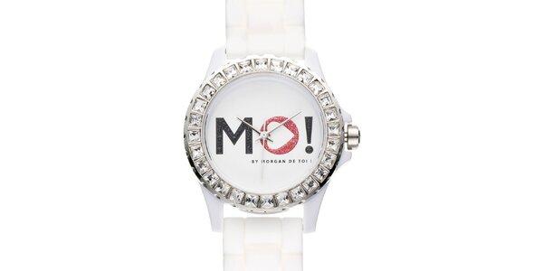 Dámske biele hodinky Morgan de Toi