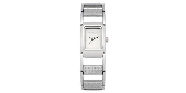 Dámske strieborné hodinky Morgan de Toi