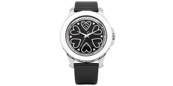Dámske čierne hodinky Morgan de Toi
