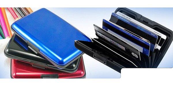 Puzdro na kreditky a vizitky Aluma Wallet