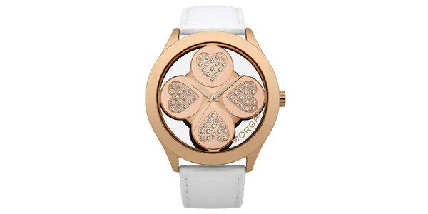 Dámske srdcové hodinky Morgan de Toi