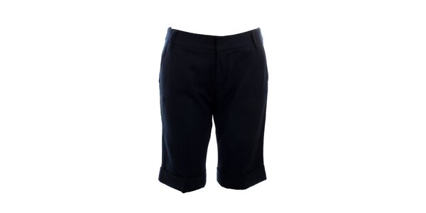 Dámske krátké tmavo modré nohavice Mexx