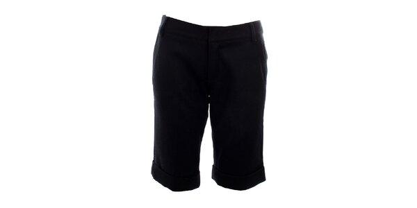 Dámske krátke čierne nohavice Mexx