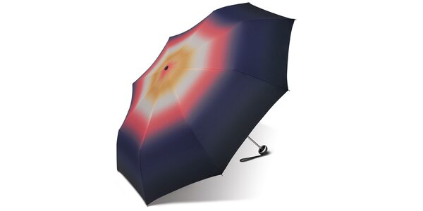 Dámsky skladací dáždnik Esprit s motívom dúhy