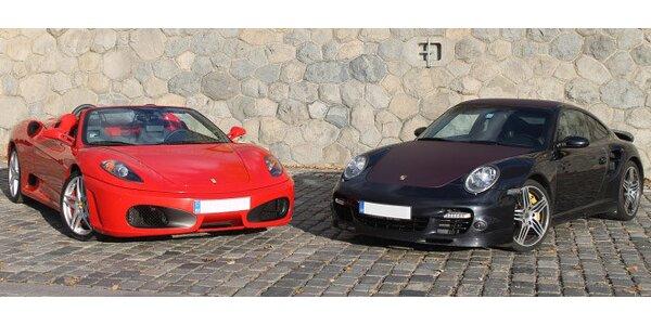 Jazda na Ferrari F 430 alebo Porsche 911 Turbo