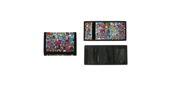 Farebne potlačená peňaženka David&Goliath