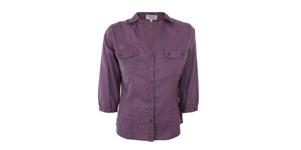 Dámska fialová košeľa Nothing Else
