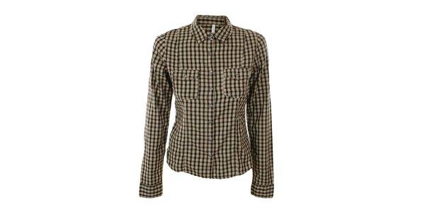 Dámska károvaná košeľa Gémo