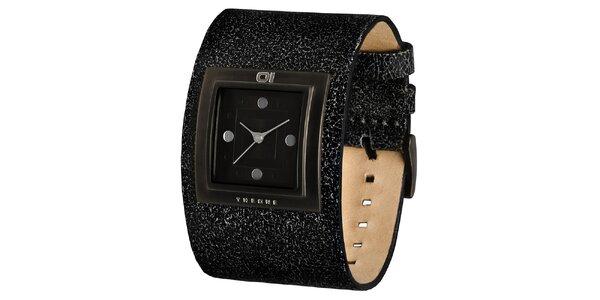 Pánske náramkové hodinky s hranatým ciferníkom The One
