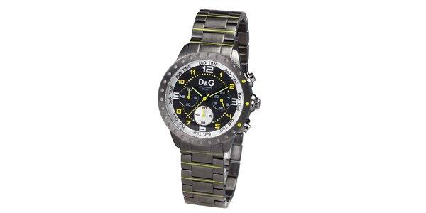 Analógové hodinky s výraznými prvkami Dolce & Gabbana