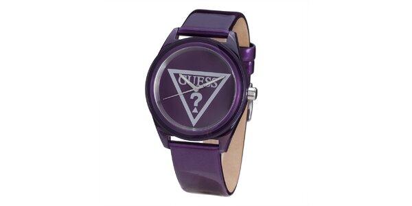 Dámske fialové hodinky Guess