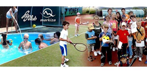 Denný športový tábor pre deti v areáli TV Markíza