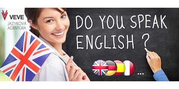 Mesačný alebo dvojmesačný jazykový kurz