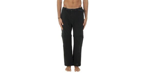 Pánske čierne športové nohavice Columbia s odopínacími nohavicami