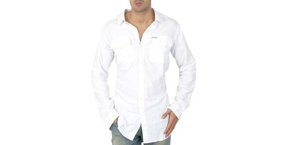 Pánska biela košeľa Columbia
