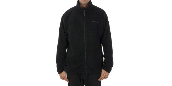 Pánska čierna fleecová mikina Columbia