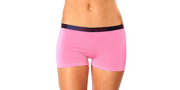 Dámske ružové nohavičky s nohavičkou Mosmann