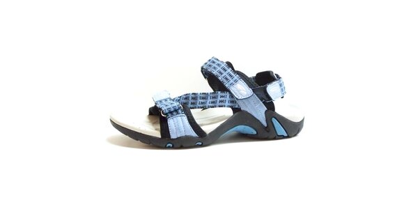 Dámske sandále s modrými remienkami Numero Uno
