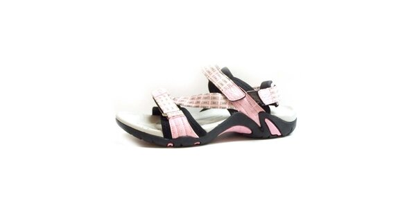 Dámske sandále s ružovými remienkami Numero Uno