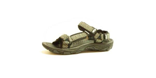 Dámske sandále so vzorovaným remienkom Numero Uno