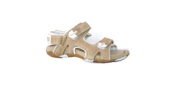 Dámske béžové sandále Numero Uno