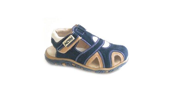 Detské modré sandálky Numero Uno