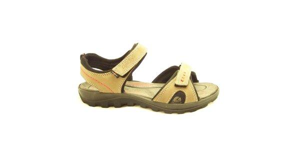 Dámske trekové sandále so suchým zipsom Numero Uno
