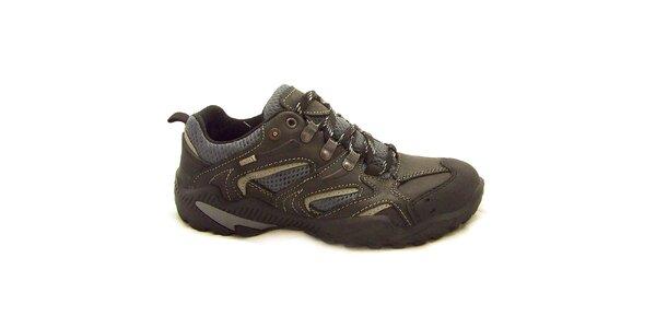 Pánske šedé trekové topánky Numero Uno