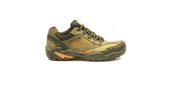 Pánske kožené béžové topánky Numero Uno